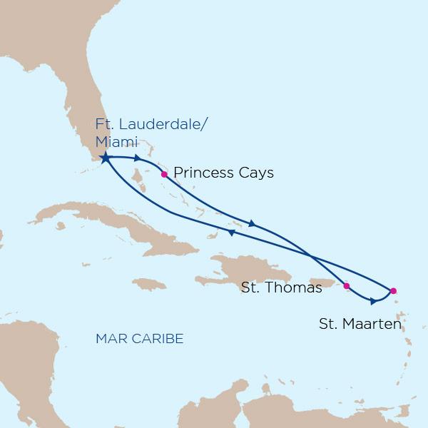 Caribe Este con Princess